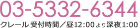 電話03-5332-6981